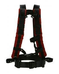 40-01-0001 Harness Standard Red Front View