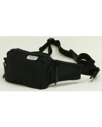 60-04-0020 Ruffian Specialties Medical Fanny Pack PPE SB County Fire Style Side View Black