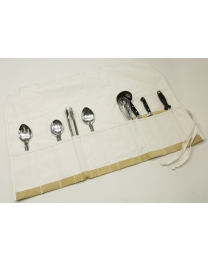 Canvas Cooking Utensil Wrap - Ruffian Specialties 20-03-0040