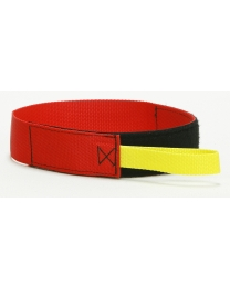 Fire Hose Bundle Straps SDFD Style Red - Ruffian Specialties 40-07-0018