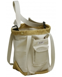 Heavy Canvas Sailboat Riggers Electric Utility Lineman Tool Bag with Shoulder Strap - Ruffian Specialties 20-04-0021