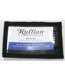 ID Window with Velcro Front - Ruffian Specialties 10-02-0009