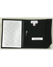 Steno Note Pad Holder Organizer Closed - Ruffian Specialties 30-10-0001