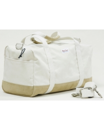 Travel Bag Heavy Canvas Leather Bottom - Ruffian Specialties 10-06-0011